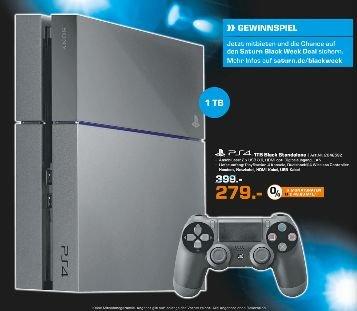 [Lokal Saturn Bielefeld] Sony PlayStation 4 (PS4) Ultimate Player 1TB Edition für 279,- €