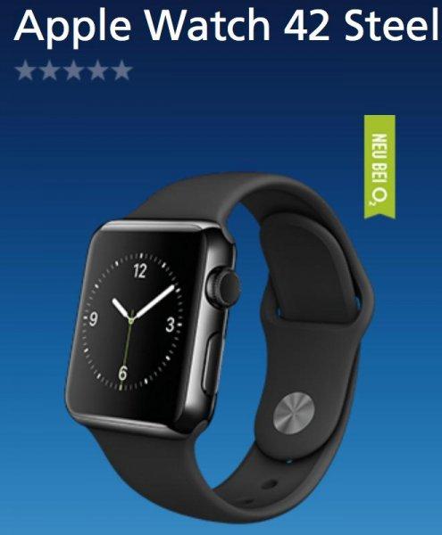 Apple Watch Edelstahl Variante 42mm: 666,99 Euro