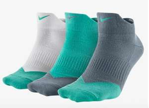 [Nike] Dri-Fit Low Socks (3er Pack) & weitere Dri-Fit Sport Socken im Sale