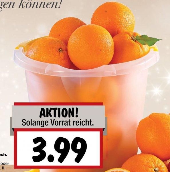 Orangen satt... soviel Ihr im Eimer tragen könnt ab Montag im [Kaufland]