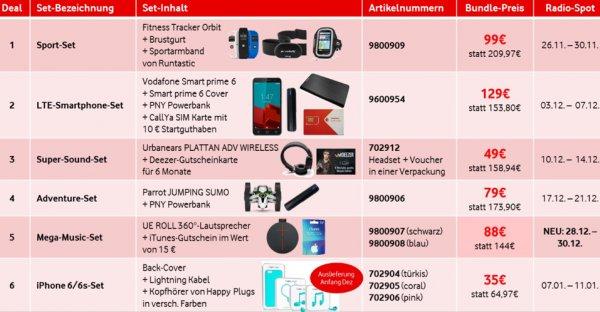 Vodafone Weihnachts-Deals