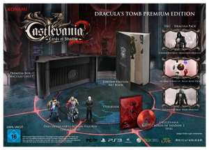 @Saturn.de und Ebay: Castlevania - Lords of Shadow 2 - Dracula's Tomb Premium Edition (PC, Xbox360, PS3) für 12,99€