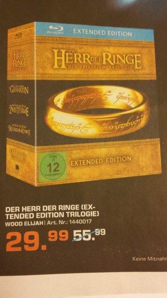 [Lokal: Saturn Hürth] Herr der Ringe Trilogie Ext. BR