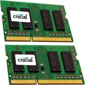 [Amazon.com] Crucial 16GB Kit (8GBx2) DDR3-1600 MT/s (PC3-12800) 204-Pin SODIMM für 70,42€