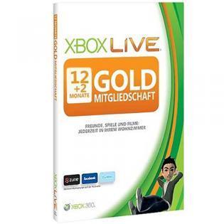 14 Monate Xbox Live Gold bei redcoon für 34,99€ (inkl. Versand)