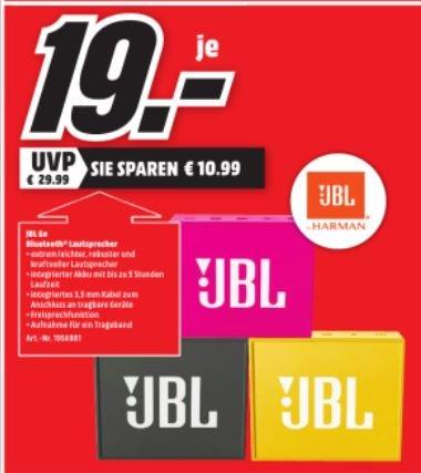 JBL go für 19€ [lokal MM Heilbronn]