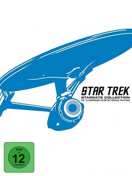 Star Trek: Stardate Collection – The Movies 1-10 [Blu-ray] für 39,70 EUR inkl. VSK (VGl: 73Euro)