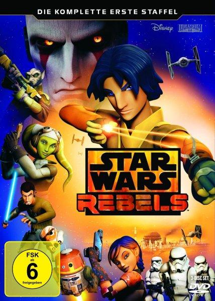 Blitzangebot: Star Wars Rebels – Die komplette erste Staffel [3 DVDs] für 13,97 EUR und [Blu-ray] für 19,97 EUR