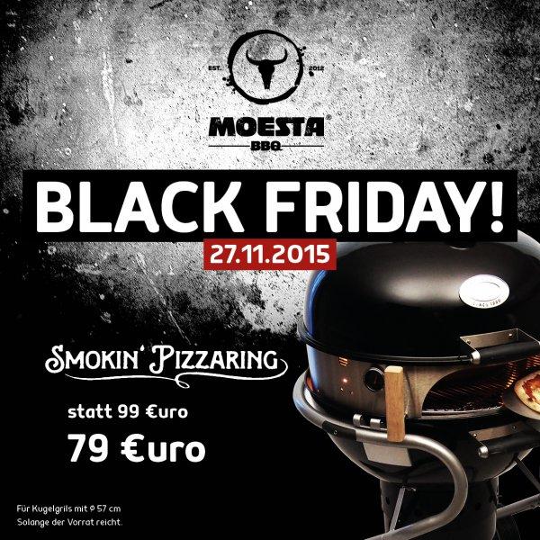 PizzaRing für Kugelgrills - Black Friday Angebot