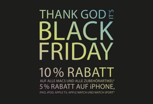 Black Friday 10% auf Macs, 5% auf iPhones - Telcoland Apple Premium Reseller