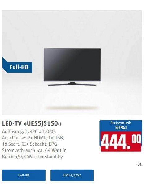 Samsung LED-TV UE55J5150 [Lokal Egelsbach REWE] für 444€