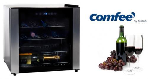 Comfee Weinkühler für 16 Flaschen Wein Flaschenkühlschrank Weinklimaschrank für 99,- Euro inkl. Versand