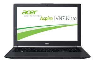 [amazon.de] Black Friday - Acer Aspire VN7-571G-573Q 39,62 cm (15,6 Zoll Full HD IPS) Notebook (Intel Core i5-5200U, 8GB RAM, 500GB HDD, NVIDIA GeForce GTX 950M, DVD, kein Betriebssystem) schwarz