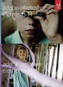 Adobe Photoshop Elements 14 + Premiere Elements 14 + Buch für 52,90 Euro @Black Friday
