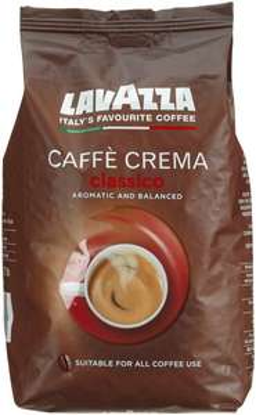 [Amazon.de-Prime-Sparabo] Lavazza Caffè Crema Classico , 1er Pack (1 x 1 kg Packung) ab 7,64€