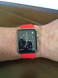 Apple Watch 42mm Edition Red
