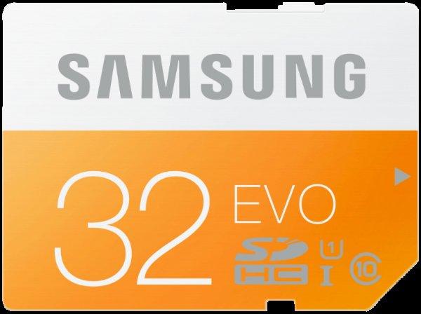 [Mediamarkt / Ebay] Samsung Evo SDHC Class 10 / UHS I mit 32GB für 7€ @Black Friday