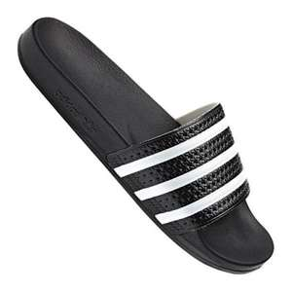 Adidas Adilette Badeschuhe - schwarz - für 12,47 € inkl. Versand @Black Friday
