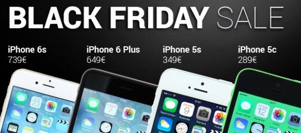 """""""Wie neu"""" - iPhone zum Black Friday bei asgoodasnew im Angebot"""