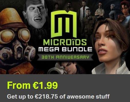[Steam] Microids Mega Bundle 30th Anniversary (7, 18 oder 25 Games) für 1,79€ / 4,49€ / 6,29€ @ Bundle Stars