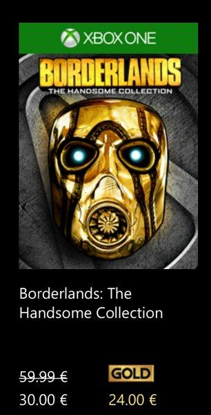 [xbox one] Borderlands: The Handsome Collection für 30 € bzw. 24 € mit Gold