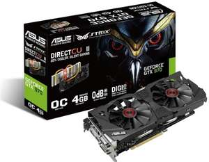 Asus Strix GTX 970-DC2OC-4GD5 4 GB für 279€ (35€ Cashback) bei Computeruniverse @Black Friday