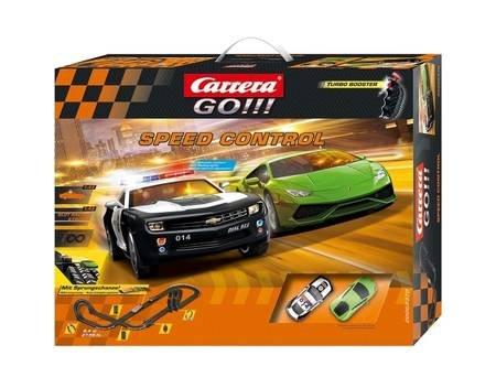 Carrera GO!!! Speed Control 62370, Autorennbahn, Altersempfehlung: ab 6 Jahren für 64,95 € @ Allyouneed (Durch Newslettergutschein)
