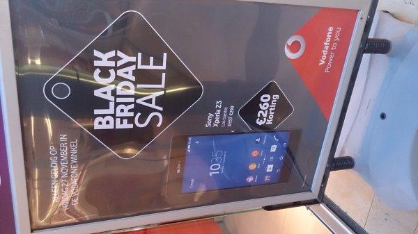[Lokal/Niederlande] Sony Xperia Z3 299€ bei Vodafone