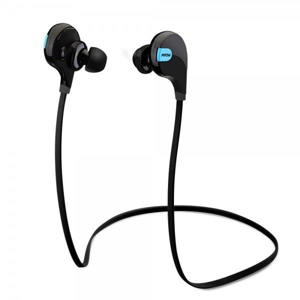 Amazon Blitzangebot Bluetooth 4.0 Wireless Schweißfänger Sport Stereo In-Ear-Kopfhörer mit AptX Technologie für 18,99