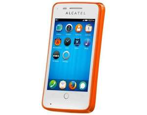 @Black Friday Deal Alcatel One Touch Fire 4012X Mozilla Orange Smartphone - Ohne Simlock - Firefox OS