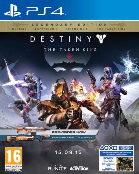 PS4 Destiny: König der Besessenen - Legendary Edition @coolshop
