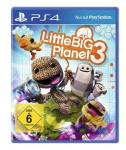[Lokal Media Markt Gießen] Little Big Planet PS3 PS4 für 15€