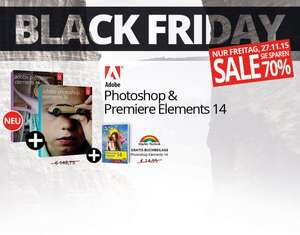 Adobe Photoshop & Premiere Elements 14 + Buchbeilage @Black Friday
