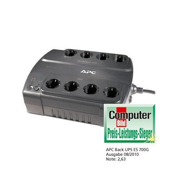 @Black Friday APC Back-UPS USV ES700G-GR GREEN 8-fach 700VA 420Watt