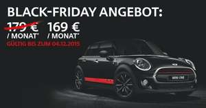 "Privat Leasing- @Black Friday Angebot - [B&K] ""BLACKLINE"" MINI One First 5-Türer - für 169 €/Monat"