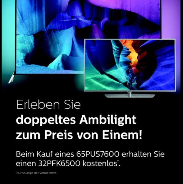 Philips 65PUS7600 + 32PFK6500 BlackFriday AKTION [Köln City MediaMarkt]