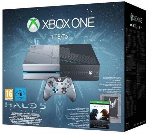 [Amazon] Xbox One 1TB für 319,99€ (neu) oder Xbox One 500GB + Fifa 16 für 269,43€ (wie neu) oder Xbox One 1TB Halo Limited Edition für 344,59€ (sehr gut)