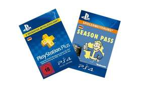 PS4: Fallout 4 Season Pass + 3 Monate PlayStation Plus für 30€ [Amazon-Digital]