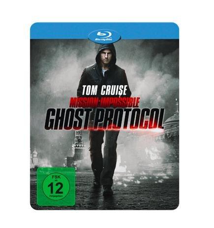 Mission: Impossible - Phantom Protokoll Steelbook [Blu-ray + DVD] für 9€ bei Media Markt Black Friday