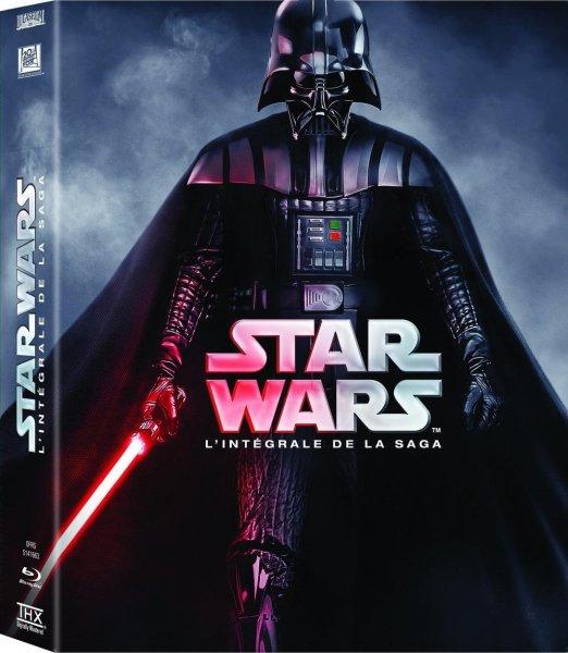 Star Wars - Complete Saga Blu-ray (nur englisch) für sagenhafte 48,40.- @amazon.fr @Black Friday