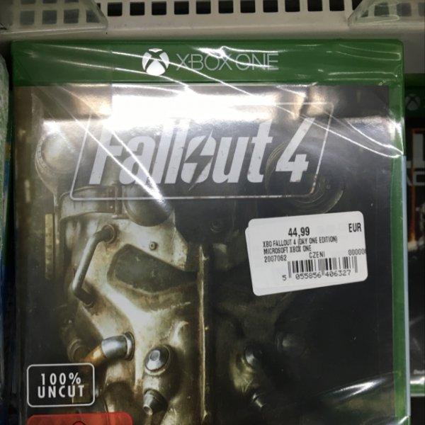 [lokal] Media Markt Potsdam Fallout 4 Xbox One/PS 4 44,99