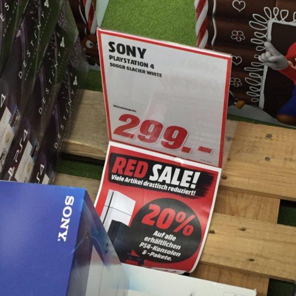 (Lokal) MM Günthersdorf PS4 weiß 500GB