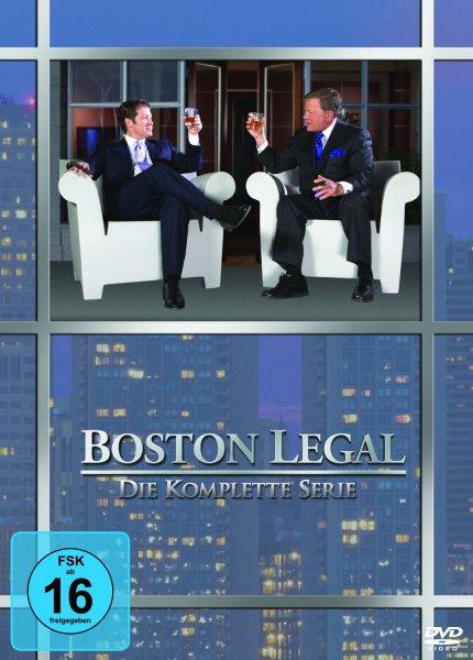 [DVD]  Boston Legal - Die komplette Serie @ Amazon (Blitzangebot)
