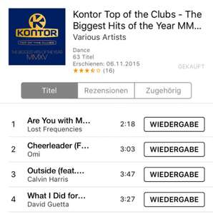 [Itunes] Kontor Top of the Clubs - The Biggest Hits of the Year