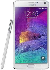 [Check24] Samsung Galaxy Note 4 LTE (5,7'' WQHD Super Amoled, Snapdragon 805 Quadcore, 3GB RAM, 32GB intern, 3,7MP + 16MP, S-Pen, 3220mAh mit Quickcharge, Android 5 -> Android 6) für 359€ @Black Friday