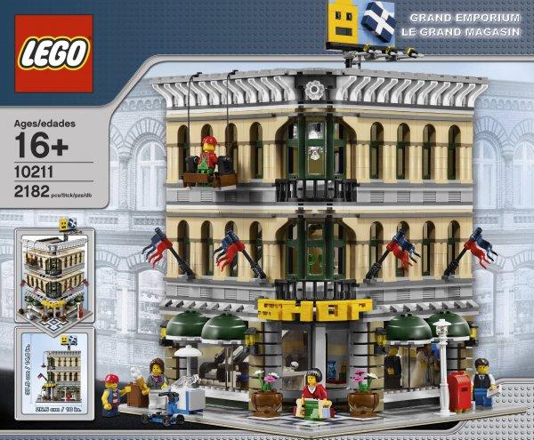 LEGO Exklusiv Set 10211 großes Kaufhaus für 245€ + 18€ in Payback