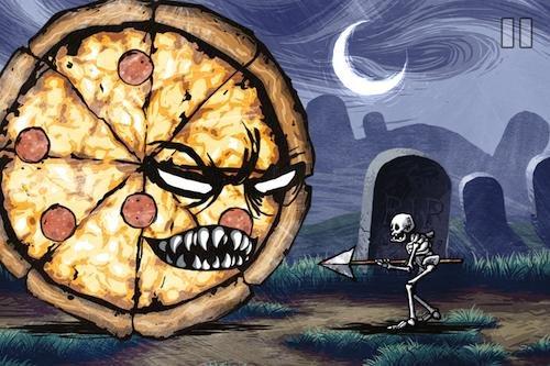 [iOS] Pizza vs. Skeletons - 4,5 Sterne Spiel gratis - sonst 4,99€ --> abgelaufen
