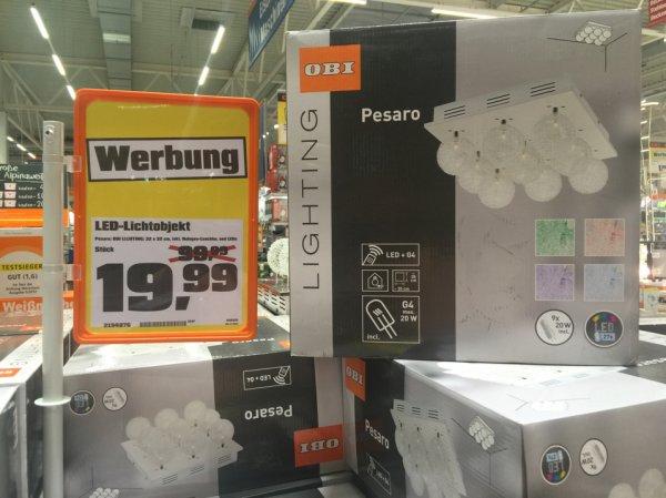 LED Deckenleuchte drastisch reduziert. Obi Köln-Pesch