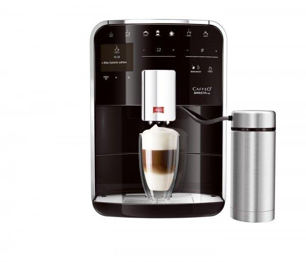 [Amazon.de] Melitta F 77/0-102 Kaffeevollautomat Caffeo Barista TSP Premium (Cappuccinatore) Edelstahl, 15 bar, schwarz