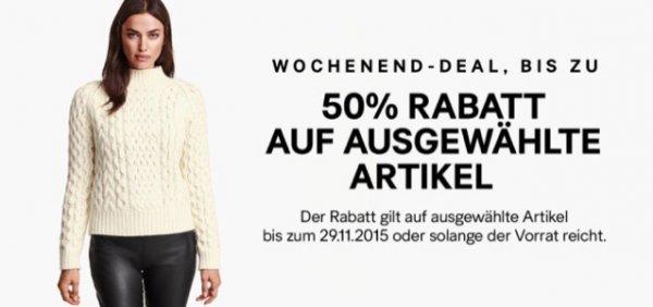 Wochenend- Deal im H&M Onlineshop